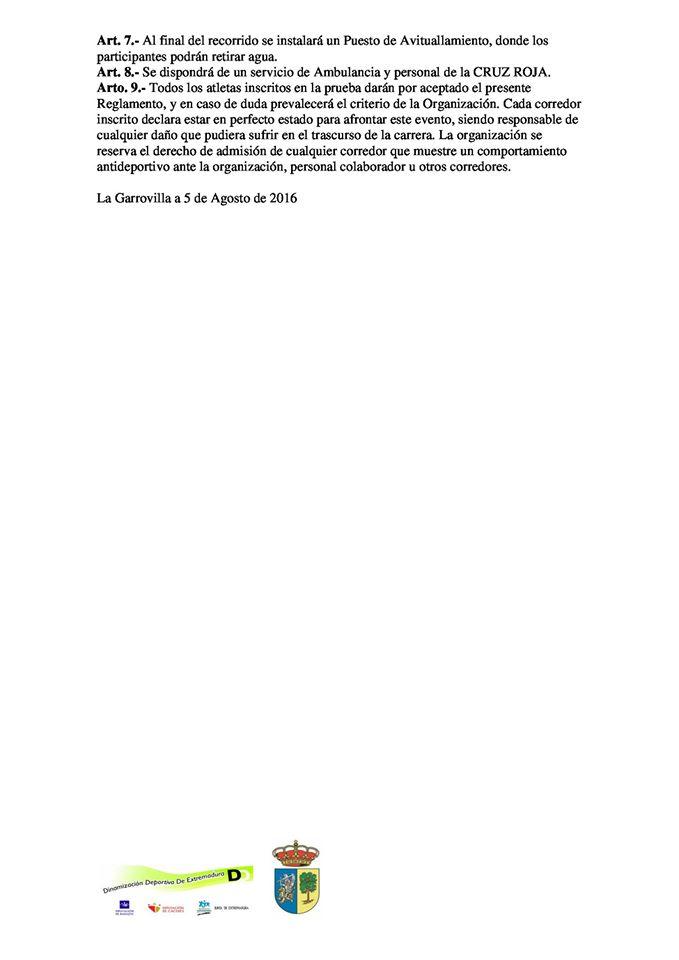 Reglamento I Cross La Garrovilla (1)