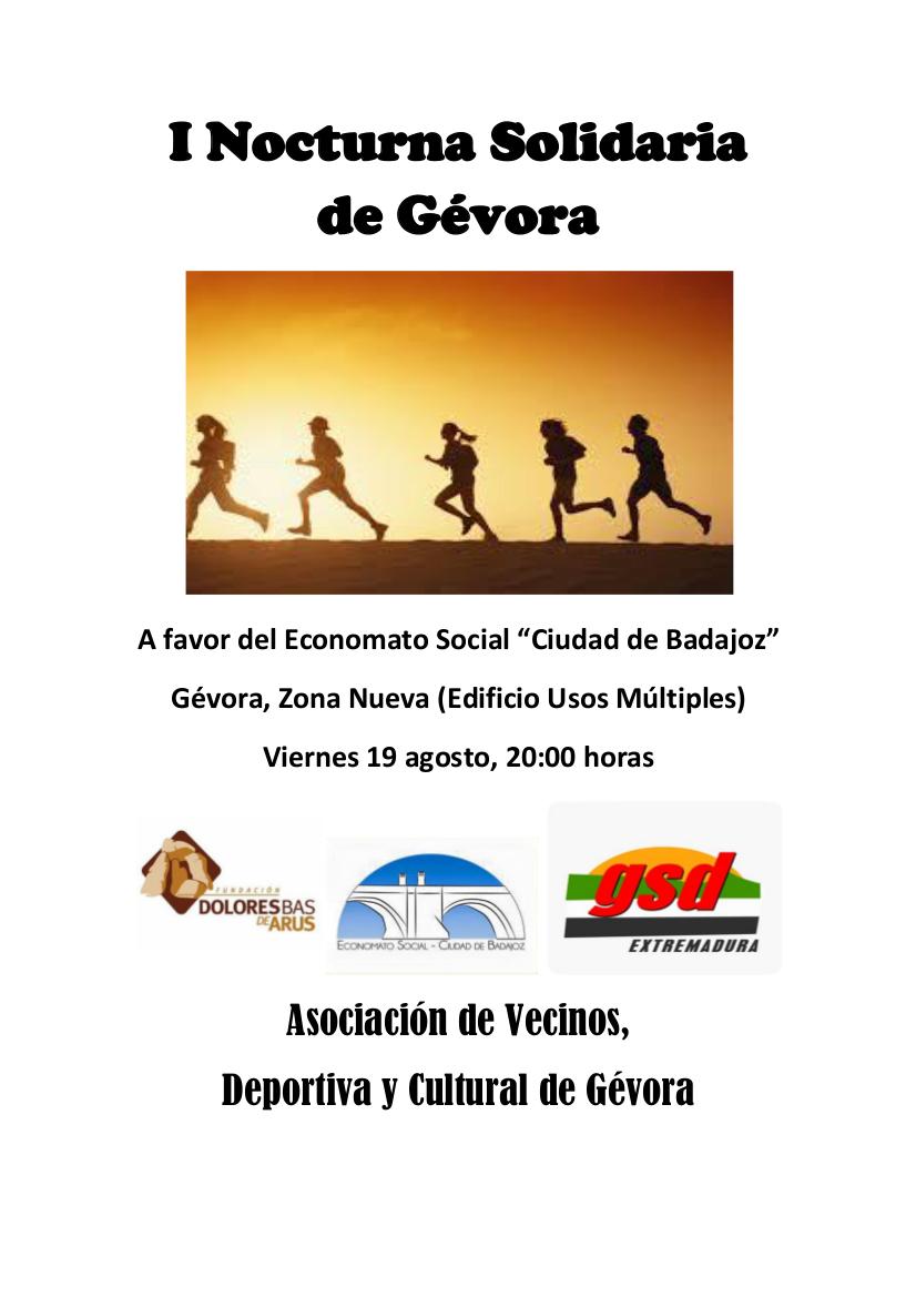I Nocturna Solidaria de Gévora