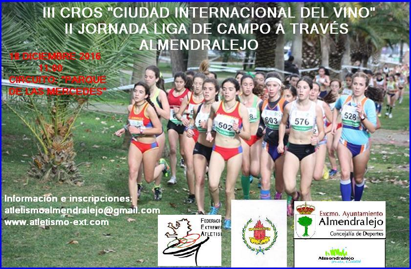 Iii Cross Ciudad Internacional Del Vino Atletismo Extremadura