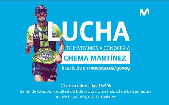 El gran atleta y triple campeón olímpico Chema Martínez visitará Badajoz
